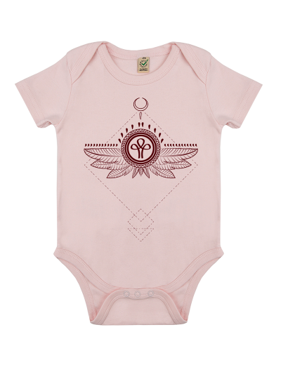 FHAN Sacred Girls BIO Baby Body rosa